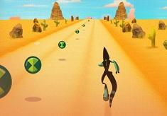 Ben 10 Alien Racing Game