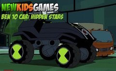 Ben 10 Car Hidden Stars