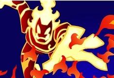 Ben 10 Master of Flames