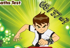 Ben 10 Maths Test