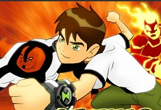 Play Ben 10 - Saving Sparksville