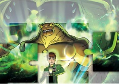 Ben 10 Ultimate Alien Puzzle