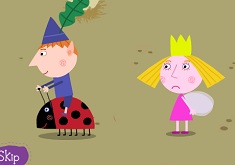 Ben and Holly Chicken Chase