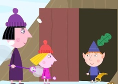 Ben and Holly Explore the Elf Tree