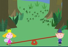 Ben and Holly Strawberry Jump