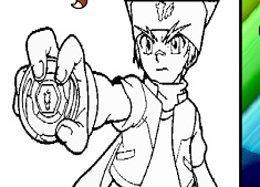 Beyblade Character Coloring