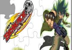 Beyblade Metal Fusion Puzzle
