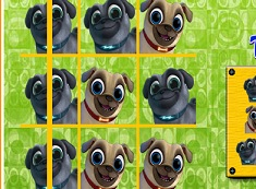 Bingo and Rolly Tic Tac Toe