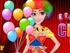 Birthday Clown Makeover