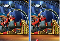 Blaze and the Monster Machines 6 Differences
