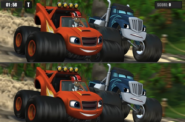 Blaze And The Monster Machines Games Games Kids Online