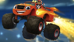 Blaze Monster Machines Letters