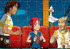 Blazing Team Puzzle
