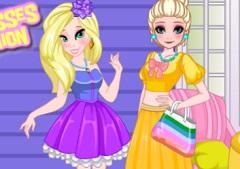 Blonde Princesses Fancy Fashion