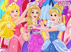 Blonde Princesses Prom Shopping