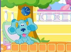 Blue Clue and the Alphabet