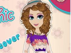 Boho Chic Girl Makeover