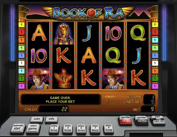 slots games online bookof ra