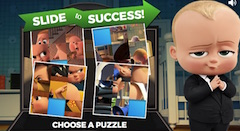 Boss Baby Slide to Success