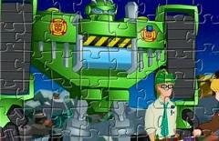 Boulder Transformers Rescue Bots Puzzle