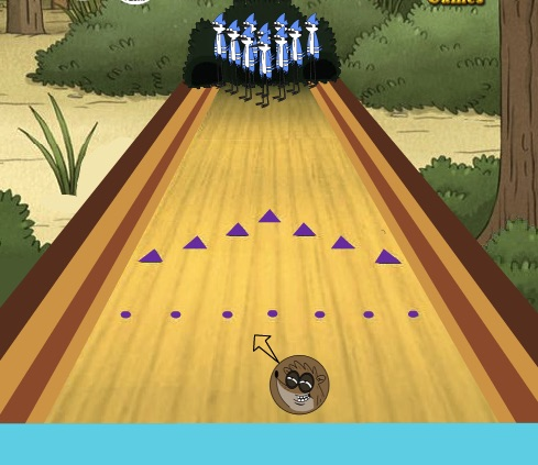 Bowling with Mordecai