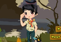 Boy Scout Dress Up