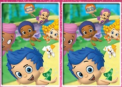 Bubble Guppies 6 Differences