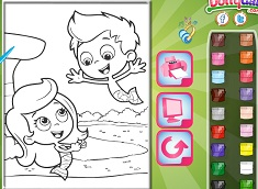 Bubble Guppies Online Coloring - Bubble Guppies Games