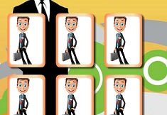 Businessman Memory Cards