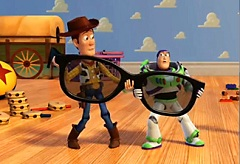 Buzz Lightyear and Woody Puzzle