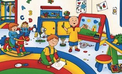 Caillou Differences