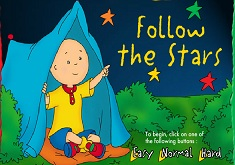 Caillou Follow the Stars
