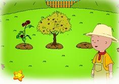 Caillou Gardening Fun