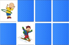 caillou online spiele