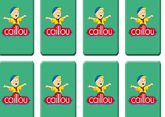 Caillou Memory Cards
