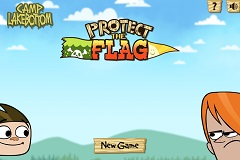 Camp Lakebottom Protect the Flag