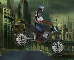 Captain America Motocycle Rush