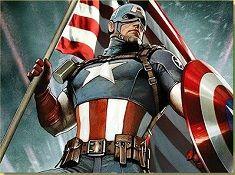 Captain America Patriotic Puzzle