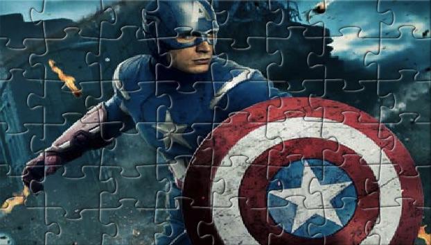 Captain America Puzzle 2