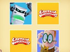 Captain Underpants Memory Mania