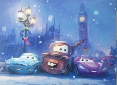 Cars Disney Christmas Puzzle