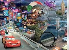 Cars Disney Hidden Stars