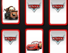 Cars Disney Memory Cards