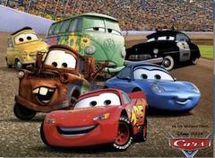 Cars Disney Puzzle