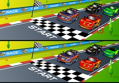 Cartoon Cars Differences