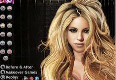 Celebrity Shakira Makeover…