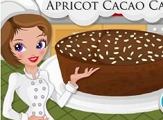 Chestnut Flour Apricot Cacao Cake