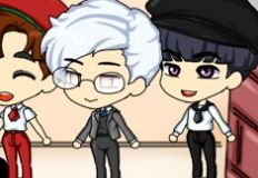 Chibi Boy School Handsome