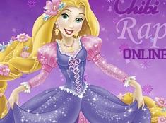 Chibi Rapunzel Coloring