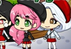 Chibi White Christmas